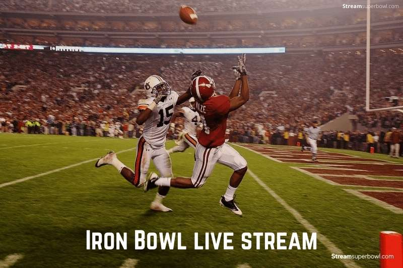 Iron Bowl live stream